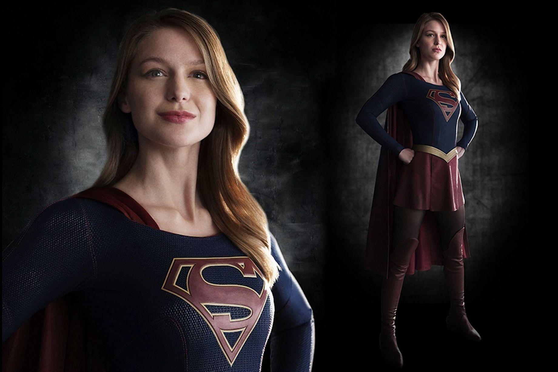 Melissa-Benoist-in-iconic-Supergirl-costume